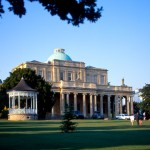 Pittville Pump Room for Spa Water at Cheltenham, Gloucestershire, England