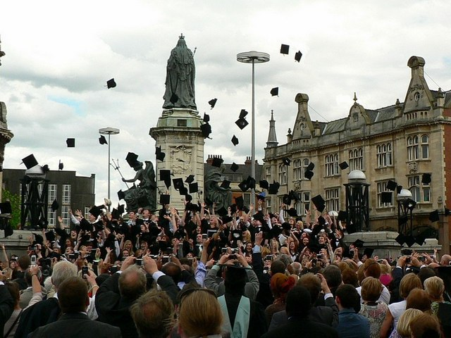 Students graduating in Hull