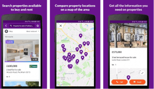 A picture of the Zoopla App